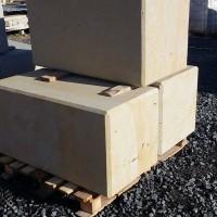 Kamienne bloczki na paletach